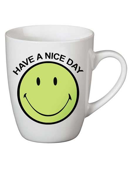 Taza Nici Smiley Have a nice day Verde