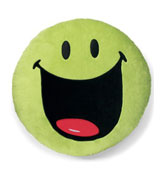 Coj�n redondo Smiley Verde