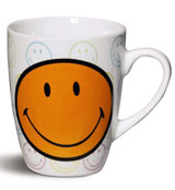 Taza Smiley Naranja